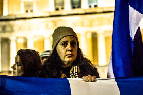 19 February Syntagma demonstration part B