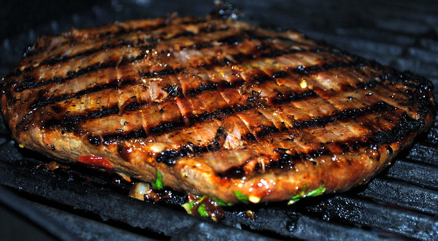 Flank Steak With Lime-Chipotle Sauce | Crazy Jamie's Blog