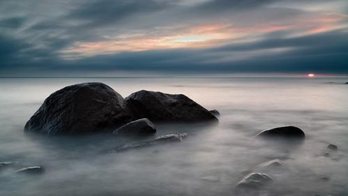 longexposure morning seascape sunrise germany landscape deutschland europe stones balticsea baltic filters rügen ostsee ruegen 16x9 nohdr