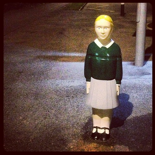 Scary Kid Road Safety Statue 1