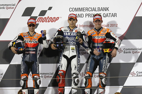 Podium MotoGP Catar
