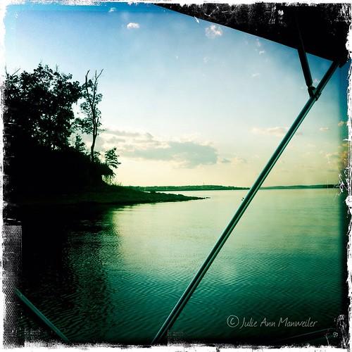 lake boat kansas