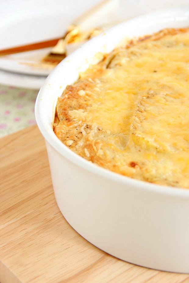 Greenslove bloghop gratinado de espinacas y patata rico - Gratinado de patata ...