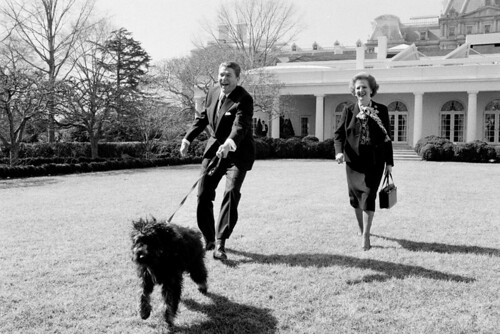 Reagan and Thatcher, 1986 Photo by White House Photographer, Jim Hubbard