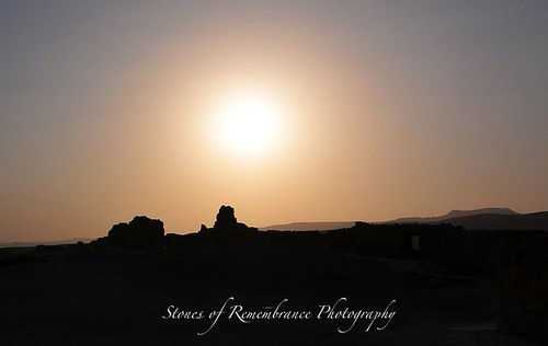 Sundown in Masada-1