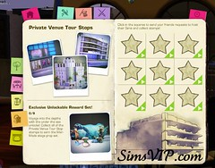 Host Sims Private Venue - Reward