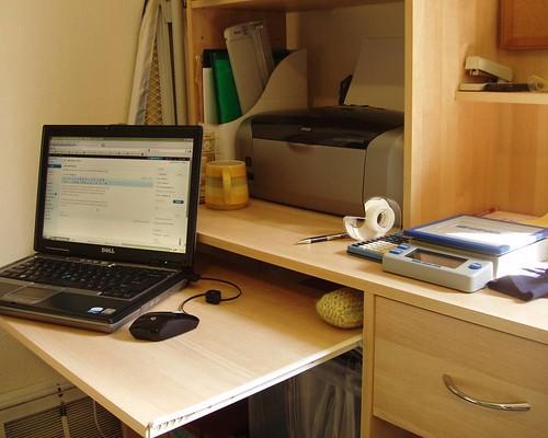 snapshots: desk