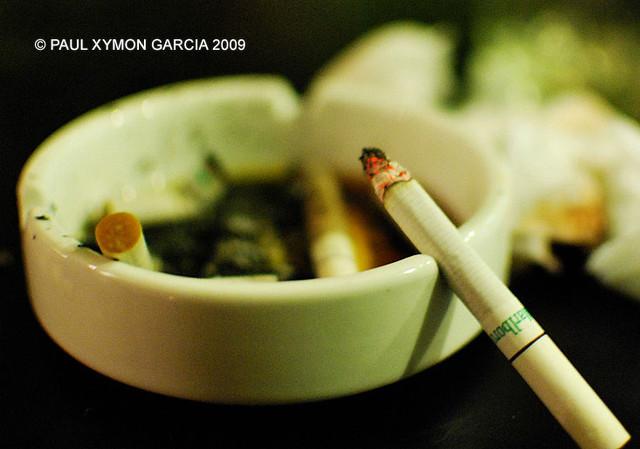 Bye, cigarettes!