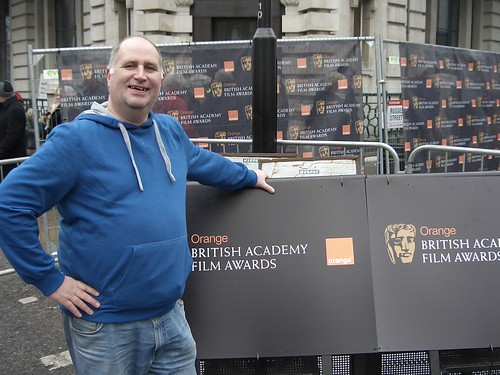 Words Fail Me Podcast at the Baftas