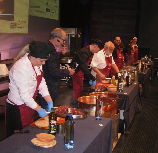 Fórum gastronómico 2012. Concurso de pulpeiras