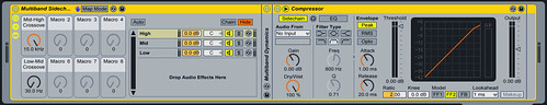 Multiband Sidechain Compressor for Ableton Live 8.x