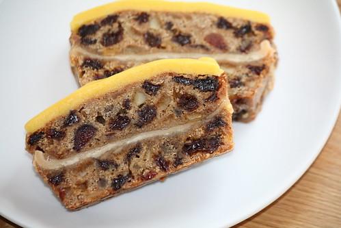 Simnel cake bars