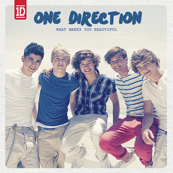 One Direction - What Makes You Beautiful (Single Cover)