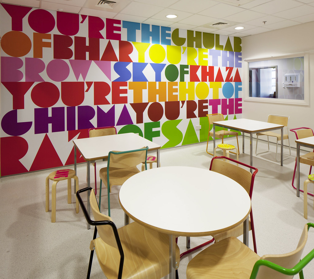 Morag Myerscough's designs for the new Royal London Children's Hospital