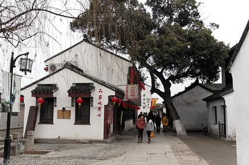 Strolling in Suzhou
