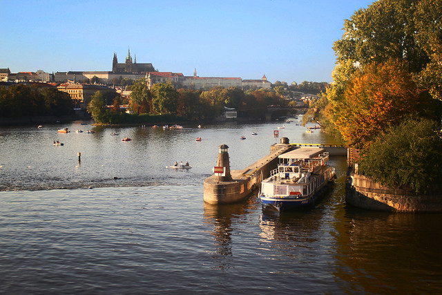 ship prague river