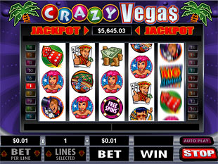 Crazy Vegas Slot Machine Online ᐈ RTG™ Casino Slots