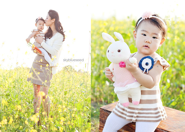 Bunny and with Mommy