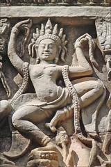 Apsara  (Preah Khan, Angkor)