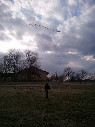 Good Kite Weather by Eric The Photog
