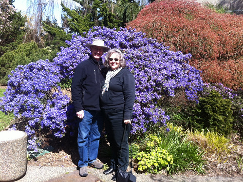 Grandpa Ray & Grandma Rhonda at SU