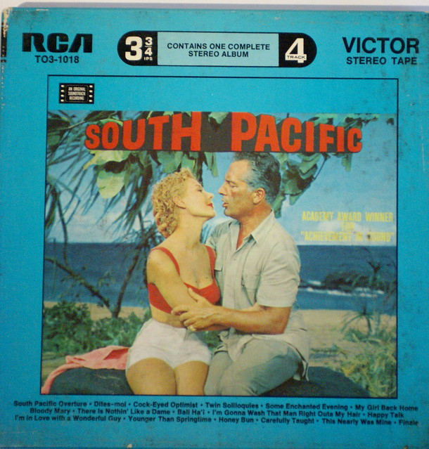 music tape reels south pacific movie soundtrack flickr