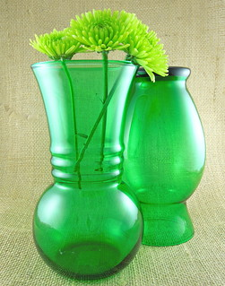 green glass for spring