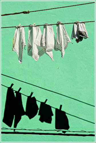 Ombra sul bucato - Shadows on the laundry
