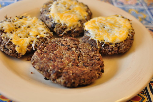 Quinoa Black Bean Patties