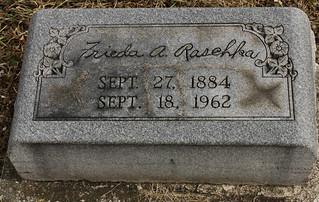 Raschka, Frieda