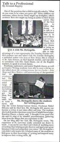 school newspaper scan