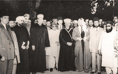 مع الحسيني و الصواف و غيرهم  - الباكستان