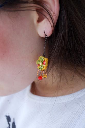 Kimono Earrings