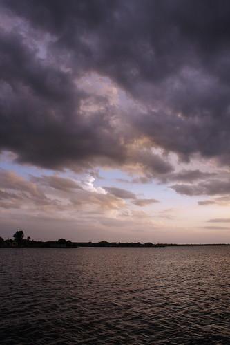 sunset sky gulfofmexico clouds bay harbor florida puntagorda portcharlotte gulfcoast