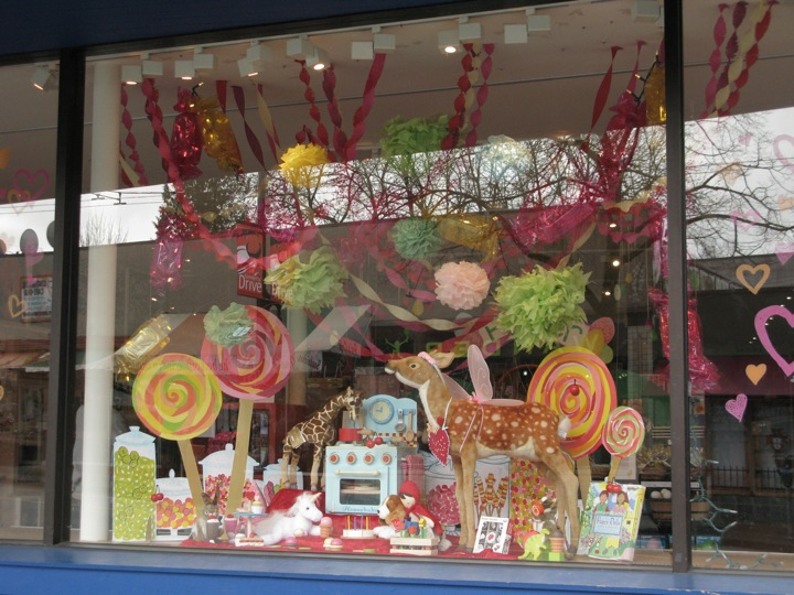 march colourful candy window display 004