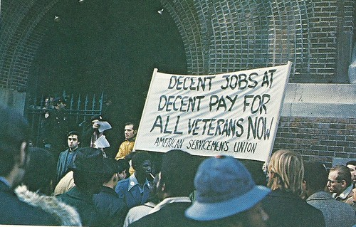1972 Unemployment Rally, NYC, NY (Leonard Freed for Magnum)