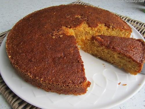 Orangenblüten, Cashew & Grieß-Kuchen(1)