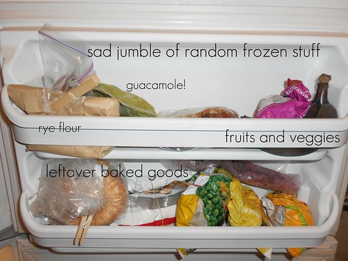 freezer door before