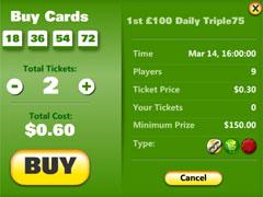 Back2School Bingo Ticket Purchaser
