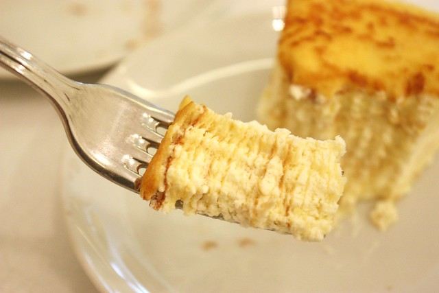 Bite of Mille Feuille Crepe Cake