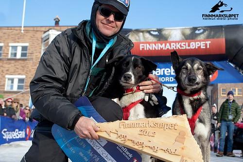 Finnmarkslopet 2012: Bernhard Schuchert