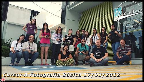 Turma do Curso Básico de 17/03/2012