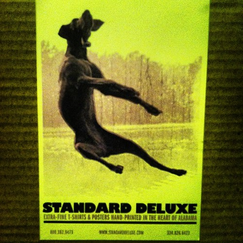 #StandardDeluxe Scott Peek artist screenprinter