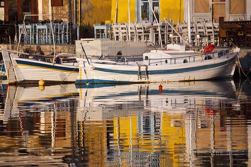 old sea reflection sunrise boats harbour crete rethymno κρήτη θάλασσα λιμάνι ανατολή παλιό αντανάκλαση ρέθυμνο βάρκεσ
