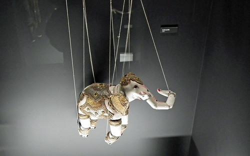 Indian Elephant Puppet at Museu da Marioneta (Puppet Museum), Lisboa. (Lisbon. 2011)