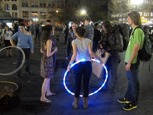Occupy Wall Street: M22, Occupy Union Square, Hula hoop