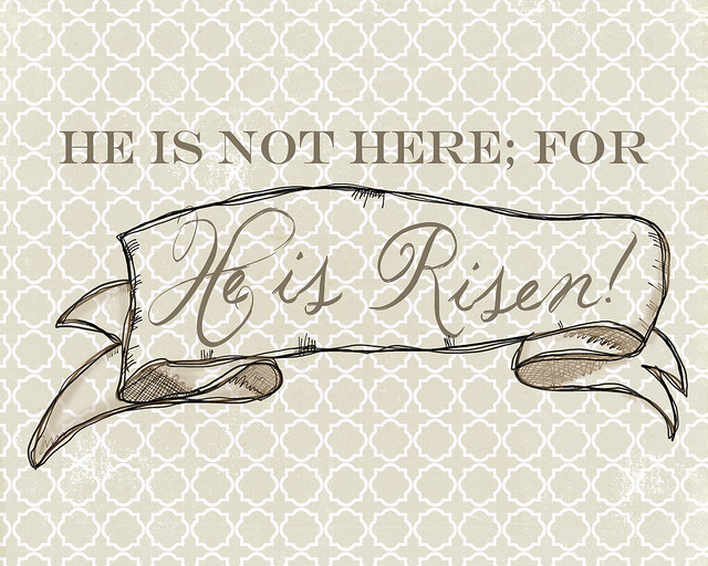 He is Risen - Tan