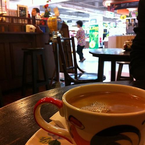 よくわからん街のよくわからん喫茶店でお茶なう