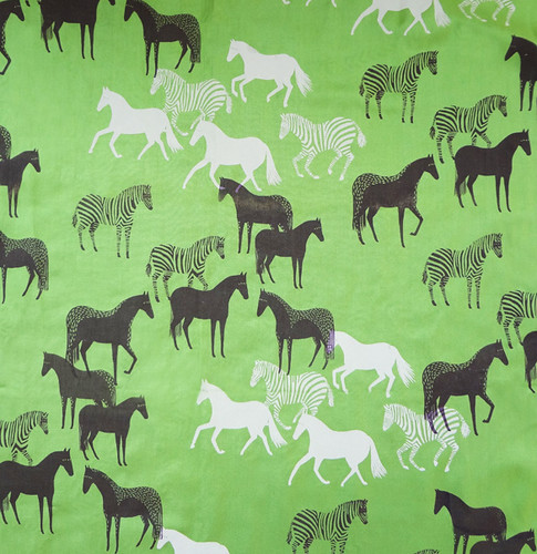 Equus scarf - Apple