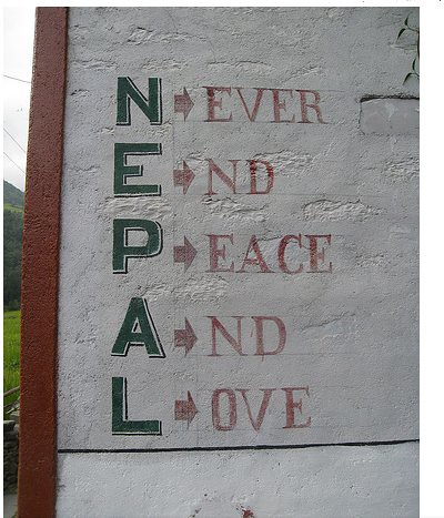 Nepal Never End Peace And Love